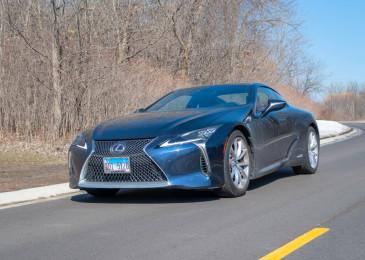 2018 Lexus LC 500h gas mileage review
