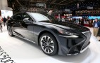 2018 Lexus LS 500h is an inconspicuous, four-door LC 500h