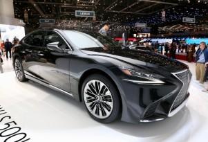 2018 Lexus LS 500h is an inconspicuous, four-door LC 500h