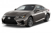2018 Lexus RC F RWD Angular Front Exterior View