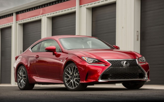 Less for more: 2018 Lexus RC earns Top Safety Pick+ award, unless ordered with pricey optional headlights
