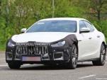 2018 Maserati Ghibli facelift spy shots - Image via S. Baldauf/SB-Medien