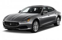 2018 Maserati Quattroporte S 3.0L Angular Front Exterior View