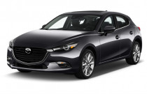 2018 Mazda Mazda3 5-Door Grand Touring Manual Angular Front Exterior View