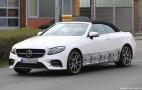 2018 Mercedes-AMG E43 Cabriolet spy shots