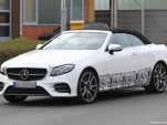 2018 Mercedes-AMG E43 Cabriolet spy shots - Image via S. Baldauf/SB-Medien