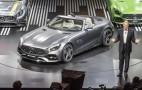 2018 Mercedes-AMG GT Roadster gets Paris auto show debut