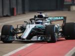 2018 Mercedes-AMG W09EQPower+ Formula 1 race car