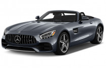 2018 Mercedes-Benz AMG GT AMG GT Roadster Angular Front Exterior View