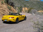 2018 Mercedes-AMG GT C Roadster, Phoenix, Arizona media drive, March, 2017