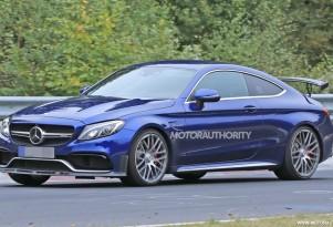 2018 Mercedes-AMG C63 R Coupe spy shots - Image via S. Baldauf/SB-Medien