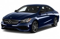 2018 Mercedes-Benz CLA CLA 250 Coupe Angular Front Exterior View