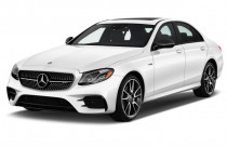 2018 Mercedes-Benz E Class AMG E 43 4MATIC Sedan Angular Front Exterior View
