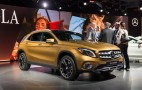 Refreshed 2018 Mercedes-Benz GLA debuts in Detroit