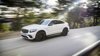 2018 Mercedes-Benz GLC Class (Mercedes-AMG GLC63 Coupe)