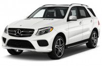2018 Mercedes-Benz GLE AMG GLE 43 4MATIC SUV Angular Front Exterior View