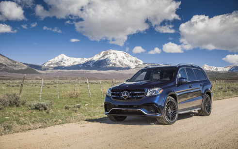 2018 Mercedes-Benz GLS Class vs Cadillac Escalade, Lexus ...