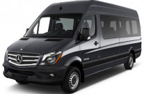 "2018 Mercedes-Benz Sprinter 2500 High Roof V6 170"" RWD Angular Front Exterior View"