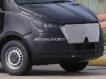 2018 Mercedes-Benz Sprinter test mule spy shots - Image via S. Baldauf/SB-Medien