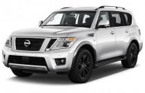 2018 Nissan Armada 4x4 Platinum Angular Front Exterior View