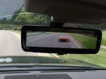 Nissan's video-streaming rearview mirror