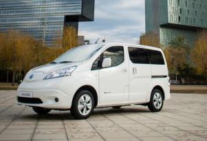 Nissan e-NV200 electric van gets longer-range battery; still no U.S. plans