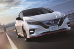 2018 Nissan Leaf Nismo quietly races in