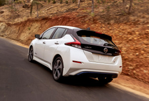 2018 Nissan Leaf electric-car prototype driven: first impressions