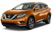 2018 Nissan Murano FWD Platinum Angular Front Exterior View