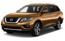 2018 Nissan Pathfinder 4x4 Platinum Angular Front Exterior View