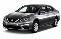 2018 Nissan Sentra S Manual Angular Front Exterior View