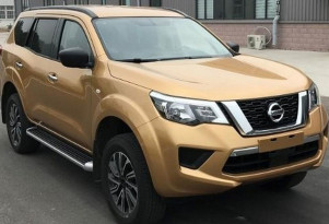 2018 Nissan Terra leaked - Image via Sina Weibo