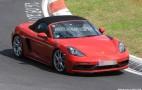 2018 Porsche 718 Boxster GTS spy shots