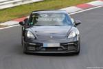 2018 Porsche 718 Cayman GTS spy shots