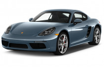 2018 Porsche 718 Cayman S Coupe Angular Front Exterior View