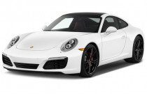 2018 Porsche 911 Carrera S Coupe Angular Front Exterior View