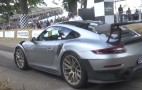 2018 Porsche 911 GT2 RS puts on a show at Goodwood Festival of Speed