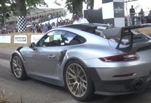 2018 Porsche 911 GT2 RS at Goodwood Festival of Speed