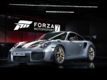"2018 Porsche 911 GT2 RS at ""Forza Motorsport 7"" launch"