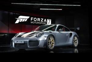 "2018 Porsche 911 GT2 RS at ""Forza Motorsport 7"" launch"
