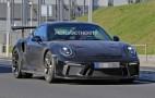 2018 Porsche 911 GT3 RS spy shots and video