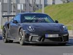 2018 Porsche 911 GT3 RS facelift spy shots - Image via S. Baldauf/SB-Medien