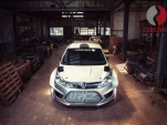 2018 Proton Iriz R5 rally car - Image via James Ward/Chicane Media
