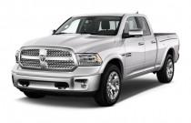 "2018 Ram 1500 Laramie 4x2 Quad Cab 6'4"" Box Angular Front Exterior View"