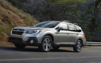 Updated 2018 Subaru Outback, Legacy have an updated price too