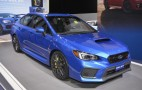 2018 Subaru WRX and WRX STI debut at 2017 Detroit auto show