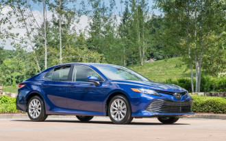 2018 Toyota Camry aces IIHS tests, awarded Top Safety Pick+