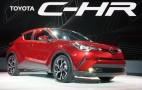 2018 Toyota C-HR debuts at LA auto show