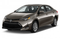 2018 Toyota Corolla LE Eco CVT (Natl) Angular Front Exterior View