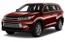 2018 Toyota Highlander XLE V6 AWD (Natl) Angular Front Exterior View